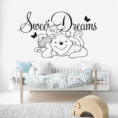 Bear Sweet Dream Vinilo Adhesivo de Pared Dibujos Animados ...