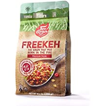 FireGrain Whole Grain Freekeh world's most nutritious super food/healthy grain, fresh from Galilee, taste the Mediterranean. Enjoy Delicious Vegan Freekeh with Every Meal (Mexican Seasoning)