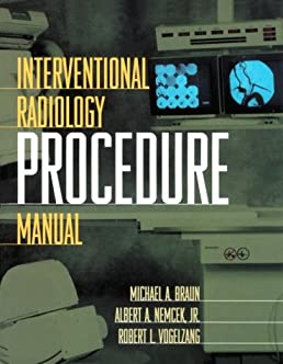 interventional radiology procedure manual 1e michael barone md u003cbr rh amazon com Interventional Radiology Anatomy Interventional Radiology Clip Art