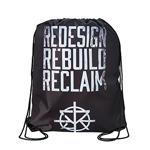 Seth Rollins Redesign Rebuild Reclaim WWE Drawstring Bag by WWE