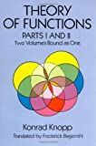 img - for Theory of Functions, Parts I and II (Dover Books on Mathematics) (Pts. 1 & 2) book / textbook / text book