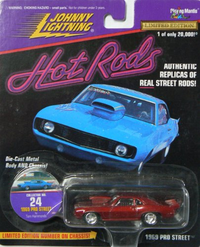 Johnny Lightning Hot Rods 1969 Pro Street Collector No. 24 (Pro Street Collector)