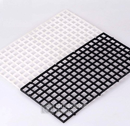 Aquarium Egg Crate Drip Tray Cover Holding Net For Sump Wet Dry Filter Any Size (Black) (Wet Dry Sump Filter)