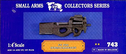 P90 Series - Verlinden 1:4 Small Arms Collectors Series FN P90 Submachinegun Resin Kit #743