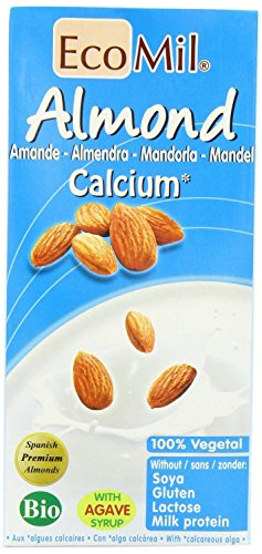 Ecomil Organic Almond Milk - Calcium 1Ltr (Pack of 6) by Ecomil