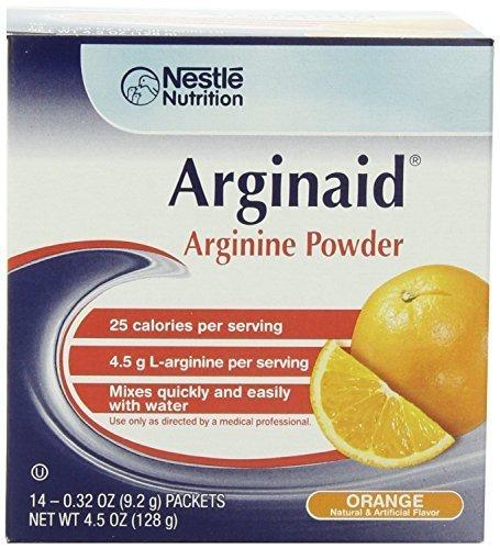Arginine Supplement Arginaid Orange 9.2 Gram Individual Packet Powder (Box of 14) by Arginaid