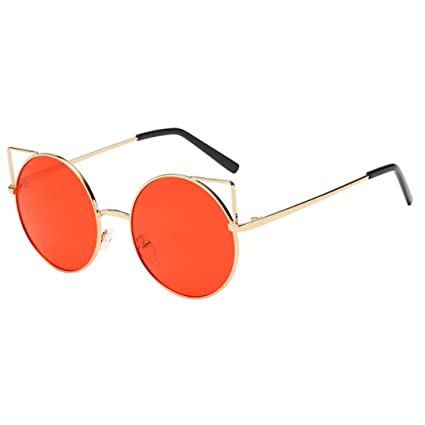❤️Gafas, Challeng - Gafas de sol de señora // Fashion Circle Sunglasses/