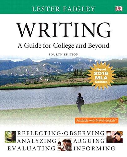 Writing:Gde.F/College+Beyond,Mla Update (eBook)