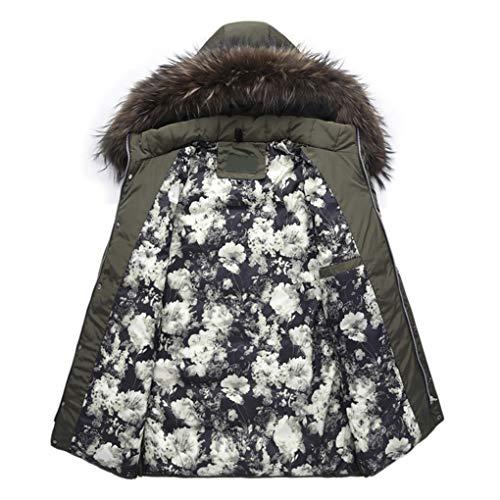 Jacket vent Noir Taille Neige Lihua couleur Down Survêtement Pour Degrés Noir Capuche Veste Chaud Casual 20 Manteaux Duck Hommes M Chauds D'hiver Coupe Épais FqFRwPTC