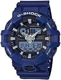 Men's 'G SHOCK' Quartz Resin Casual Watch, Color:Blue...