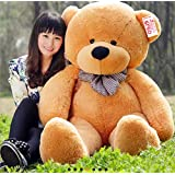 OSJS Soft Toys Lovable/Huggable Teddy Bear for Girlfriend/Birthday Gift/Boy/Girl Brown 3 feet (90 cm)
