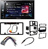 Metra 99-6516B Single/Double DIN Mounting Kit with OEM Bezel for 2005-07 Chrysler 300 Vehicles + Pioneer AVH-X390BS Double Din Bluetooth In-Dash DVD/CD Car Stereo Receiver with 6.2 Inch
