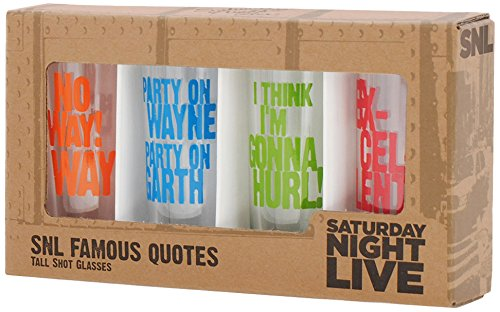 Saturday Night Live Best of Collection No.3 4- Tall Shot Glass