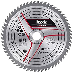 kwb by Einhell Lama HM (Ø 254 x 30 mm, 60 denti, adatta per sega circolare da banco Einhell TC-TS 2025/2 eco… 510KI x3 qL. SS300
