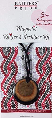 Knitters Pride Magnetic Knitters Necklace (Natural Hues) by Knitter's Pride