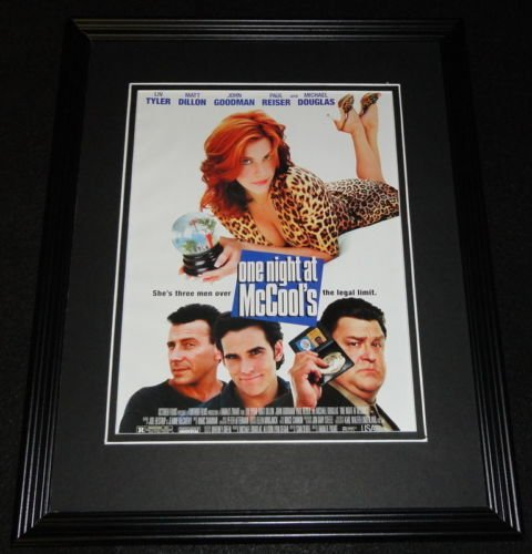 One Night at McCool's 2001 Framed 11x14 ORIGINAL Advertisement Liv Tyler