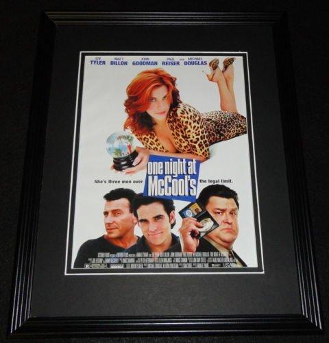 One Night at McCool's 2001 Framed 11x14 ORIGINAL Advertisement Liv Tyler