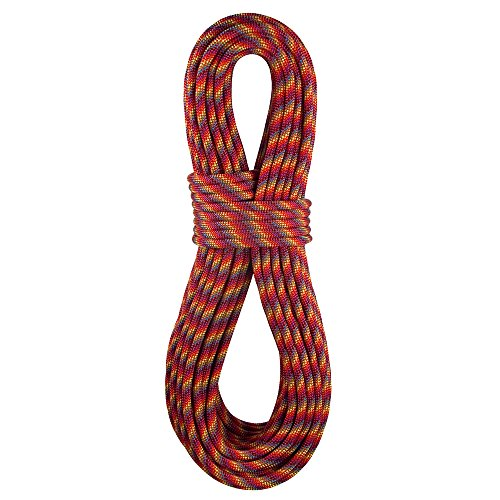 BlueWater Ropes 9.1mm Icon Standard Dynamic Single Rope (Rainbow, 70M)