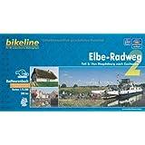 bikeline Radtourenbuch: Elbe-Radweg Teil 2: Von Magdeburg nach Cuxhaven, wetterfest/reißfest