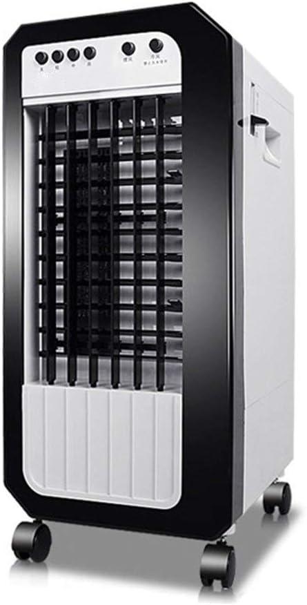 FANS LHA Ventilador mecánico portátil, 3 velocidades, Capacidad del Tanque de Agua 7.5L, Uso en el hogar y en la Oficina -80W: Amazon.es: Hogar