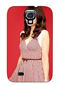 Awesome Case Cover/galaxy S4 Defender Case Cover(zooey Deschanel) Gift For Christmas wangjiang maoyi