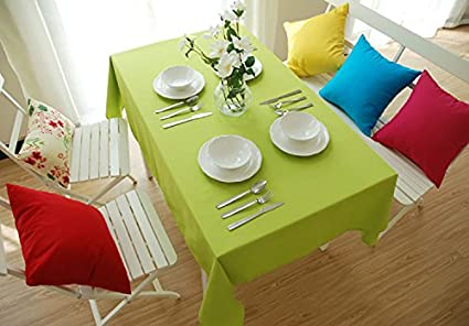 Buy Generic Table Cloth Woven Green Brown Red Tablecloth Home Toalha