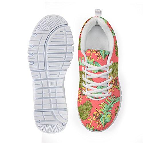 Bigcardesigns Damesmode Sportschoenen Sneakers Lace-up Stijl 4