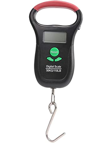 AOLVO - Báscula Digital con Pantalla LCD electrónica de 50 kg de Peso máximo, con