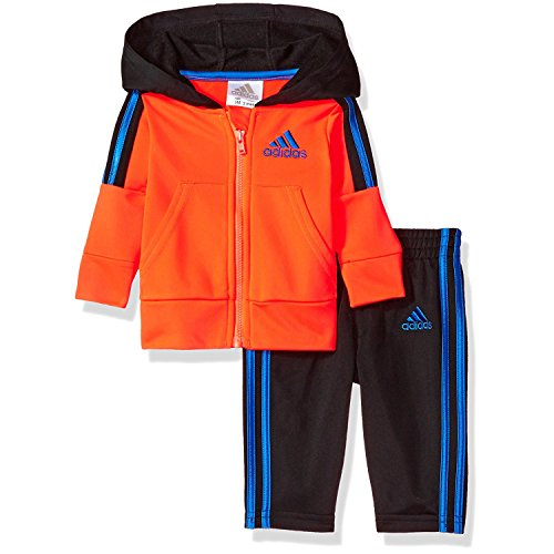 973b7de4b Galleon - Adidas Boys  Zone Tricot Jacket And Pant Set (4T