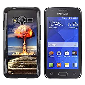 iKiki Tech / Estuche rígido - Explosion Powerful Atomic Bomb - Samsung Galaxy Ace 4 G313 SM-G313F