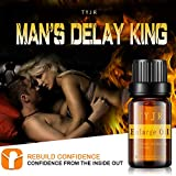 Emubody Men's Sexual Massage Essential Oil for Sex, Massage Enlargement Oils Permanent Thickening Growth Pills Increase Liquid Men Health Care Enlarge Oil Delay Performance Boost Strength