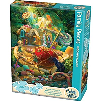 Cobblehill Puzzles Multi 350 Candy Cottage