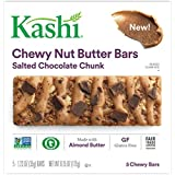 Kashi Salted Chocolate Chunk Chewy Granola Nut Butter Bars, 6.2 oz
