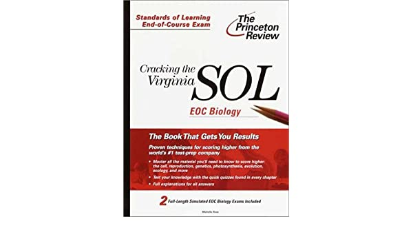 Amazon cracking the virginia sol eoc biology princeton review amazon cracking the virginia sol eoc biology princeton review cracking the virginia sol 9780375755644 michelle rose books fandeluxe Gallery