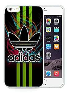 Fahionable Custom Designed iPhone 6 Plus 5.5 Inch Cover Case With Adidas 5 White Phone Case