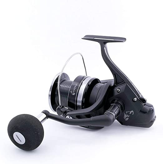Tica Hyena Hn50 Gear Ratio 4 3 Fishing Reel Black Sport Freizeit