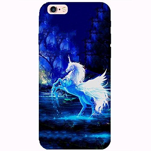 Coque Apple Iphone 6-6s - Licorne forêt enchantée