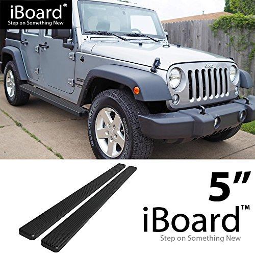 - Off Roader for 2007-2018 Jeep Wrangler JK Sport Utility 4-Door (Nerf Bar | Side Steps) 5