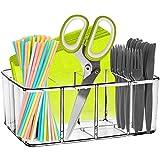 Clear Supplies Utensil Caddy Organizer - 5