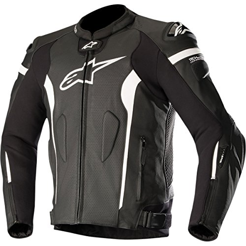 Alpinestars Missile Men's Street Jackets - Black/White / - Bike Jackets Men Street