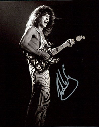 Eddie Van Halen signed 8x10 photo ()