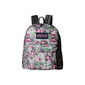 JanSport Unisex Spring Break Multi Concrete Floral Backpack