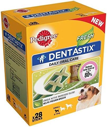 Pedigree Dentastix for Small Dogs – Fresh (28 per Pack – 440g) – Pack of 6 – Dogs Corner