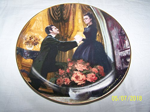 Bradford Exchange W S George Gone with The Wind Golden Anniversary Series The Proposal Plate CP1818