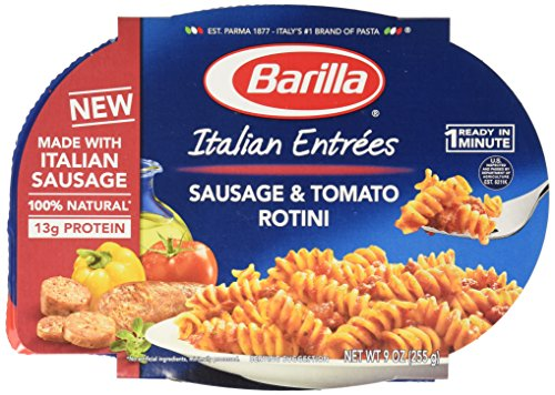 Barilla Sausage & Tomato Rotini Italian Entrée, 9 oz