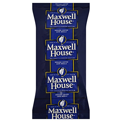 Maxwell House Regular Café Roast Hot-and-Ready Coffee, 12 oz. urn, Pack of 32