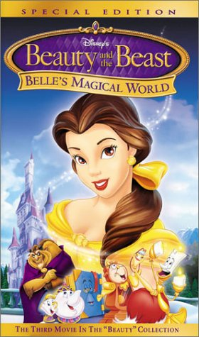 Disney's Beauty and the Beast - Belle's Magical World (Special Edition) [VHS] (Beauty And The Beast An Enchanted Christmas Vhs)