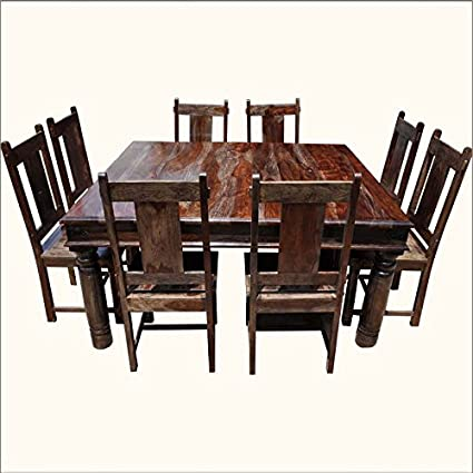 708a41978b4 Aprodz Sheesham Wood Luxor 8 Seater Dining Table Set for Home ...