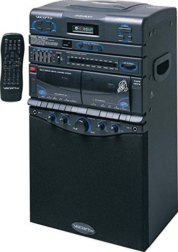 VocoPro DVD-Duet 80W CD / Dual Cassette / AM / FM Karaoke System