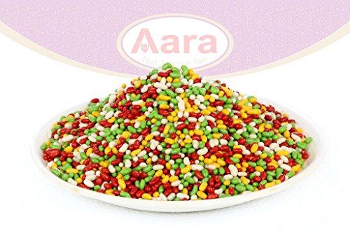 Aara Sugar Coated Fennel 200 Grams (7 Oz) (7 Oz Sugar)